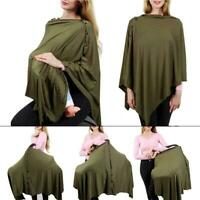 Breathable Baby Shawl Breastfeeding Cover Maternity Nursing Cover (7 Colour)