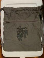 Zac Brown Band Canvas Drawstring Backpack Bag