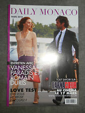 "DAILY MONACO LIVRET PLV 8 PAGES FILM ""L'ARNACOEUR"" VANESSA PARADIS ROMAIN DURIS"