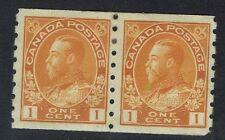 Canada SG# 219, Mint No Gum, Pair, Gum tone spots - Lot 051717