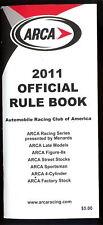 2011 ARCA Racing Series Rulebook