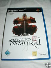 Playstation 2 PS 2 PS2 Spiele Sword of the Samurai DVD
