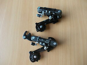Sunrace 5-7 Speed MTB Bike Rear Mech / Deraileur With Or Without Hanger Shimano