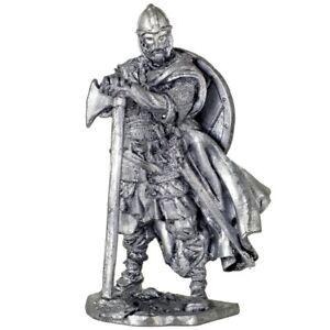 *Viking 793 AD* Tin toy soldiers. 54mm miniature figurine. metal sculpture