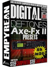 Fractal Axe Fx II DEFTONES Stef Carpenter Guitar Presets Koi No Yokan Metal