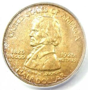 1925 Vancouver Half Dollar 50C - Certified ICG MS65 - Rare in MS65 - $682 Value!