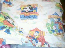 Disney Mickey Minnie Mouse Window Valance Donald Goofy Circus Games Carnival EUC