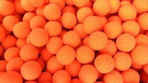 Chocolate Flavour Orange Fluoro Pop-ups Boilie Pop ups Fishing Bait 15mm Carp