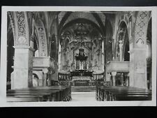 Switzerland: Interia of Cathedrale S. Lorenzo in Lugano - Old Frinzl RP Postcard