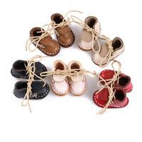 für Puppen Spielzeug 1/6 Doll Leder Schuhe Schuhe mit Bandage Schuhe für Puppen