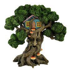Fairy Garden Mini - Living Tree Face With Tree House