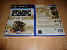 BROTHERS IN ARMS EARNED IN BLOOD DE UBISOFT PARA LA SONY PS2 NUEVO PRECINTADO