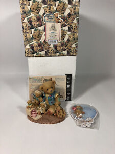 """CHERISHED TEDDIES """"COLLECTING CHERISHED FRIENDS ALONG THE WAY """" & PIN"""