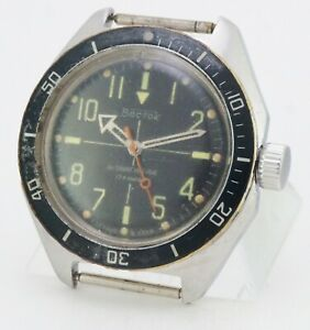 Wristwatch Vostok Amphibian Diver watch 18 jewels made in USSR Soviet Russian