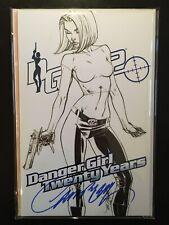 🔥 J Scott Campbell Danger Girl: Twenty Years Sketch SIGNED Exclusive | NM 🔥