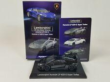 1:64 Kyosho Minicar Lamborghini Huracan LP620-2 Blancpain Super Trofeo Black NEW