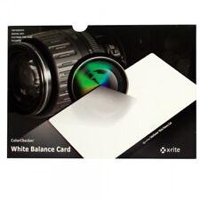 X-Rite GretagMacbeth ColorChecker White Balance Card
