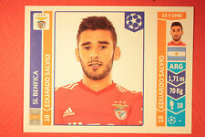 PANINI CHAMPIONS LEAGUE 2014/15 N. 189 SALVIO BENFICA BLACK BACK MINT!
