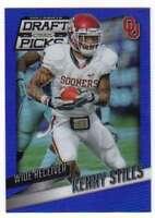 2015 Panini Prizm Collegiate Draft Blue Prizms /75 #63 Kenny Stills