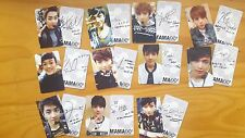 EXO PHOTO CARD #026 - Included image IN MAMA <B>  (allof11) - Lotto GROWL power