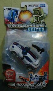 Takara Tomy Transformers United UN-12 Autobot Jazz Figure Japanese Version Rare