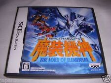 Used DS Super Robot Taisen OG Saga Lord of Elemental  NINTENDO JAPANESE IMPORT