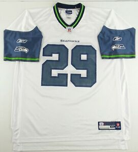 NEW Vintage Reebok NFL Seattle Seahawks Earl Thomas Football Jersey SizeMen's XL