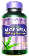 150 Softgels Potent Aloe Vera Gel 5000mg Inner Leaf 200:1 Extract Capsules