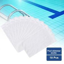 5 Pack Swimming Pool Spa Skimmer Basket Filter Saver Bag Fine Mesh Screen Socks