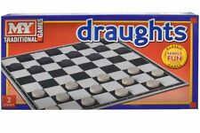 Full Size Traditional Classic Board Games Draughts Family Kids Game Fun New
