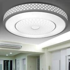 Rund LED Deckenleuchte Deckenlampe Kristall Wohnzimmer Flurleuchte Badleuchte