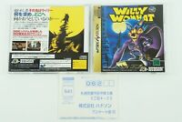 Willy Wombat SS HUDSON Sega Saturn From Japan