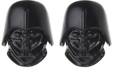 Star Wars- Darth Vader Mask Black Cufflinks With Box-Wedding Birthday Gift New