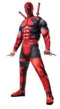 Deadpool Deluxe Adult Costume Marvel Superhero Men's Size XLarge
