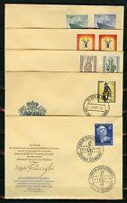 BERLIN Nr.126-135 AMTLICHE FDC ESST BERLIN ME 116,-++ !!! (117769)