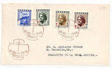 VV194 1948 Spain ANTI-TUBERCULOSIS FUND FDC Madrid MEDICAL {samwells-covers}