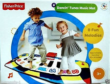 FISHER PRICE DANCIN' TUNES MUSIC MAT,INTERACTIVE ELECTRONIC STEP ON PIANO,3+,NEW