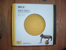 New SKLZ Med Ball 6 lb Weight Training Ball