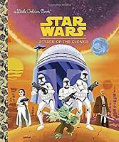 Star Wars: Attack of the Clones Star Wars Little Golden Book Golden Books
