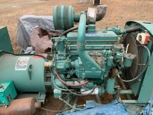 Used Detroit 4-71T Diesel Generator, only 204 hours, All Complete and Run Tested