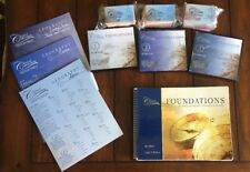 CC Classical Conversations Foundations Guide 4th Edition, CD, Maps, Flash Cards