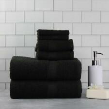 6 Pack Cotton Bath Towel Set Soft Absorbent Large Bath Hand Washcloths Towels