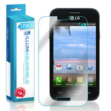 2x iLLumi AquaShield Crystal HD Clear Screen Protector for LG Optimus Zone 2