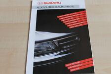 113033) Subaru Legacy - 1800 Travel - Libero - Justy Prospekt 1991