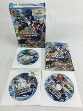 Sonic Riders PC CD-ROM Game Rare Computer US NTSC The Hedgehog Pre-owned W/ Box