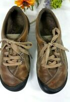 KEEN Shoes Hiking Womens 8 Comfort Oxfords Lace-Up Leather Suede Brown