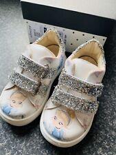 Monnalisa Cinderella Shoes Girls Designer Clothes Brand New Size Euro 21 uk 4.5