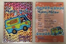 2003 Scooby Doo Mysteries And Monsters Sparkle Card # SP6 The Mystery Machine