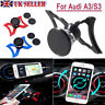 Fits for Audi A3 & S3 360° Cell Phone Holder Car Air Vent Outlet Mount Rotary