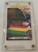 1993 NASCAR ACTION PACKED ROOKIE CARD JEFF GORDON CARD #86 SCREWDOWN CASE